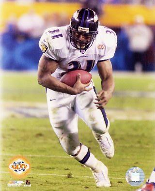 Jamal Lewis Super Bowl 35 LIMITED STOCK Ravens 8x10 Photo