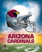 Arizona A1 Cardinals Team Helmet 8x10 Photo