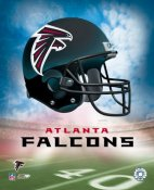 The Atlanta Falcons Team Helmet Photo