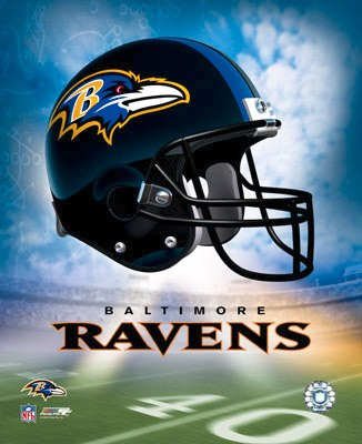 Baltimore A Ravens Team Helmet Photo