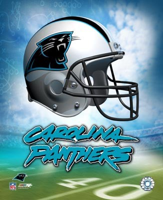 Carolina A Team Helmet Panthers LIMITED STOCK 8x10 Photo