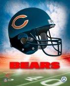 Chicago A Bears Team Helmet Photo