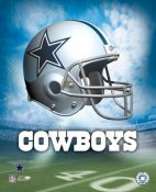 Dallas A1 Cowboys Team Helmet SATIN 8x10 Photo