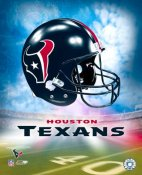 Houston A1 Texans Team Helmet Photo LIMITED STOCK