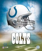 Colts A Team Helmet 8x10 Photo