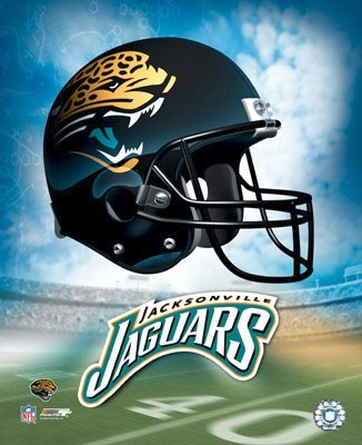 Jacksonville A Team Helmet Jaguars LIMITED STOCK 8x10 Photo