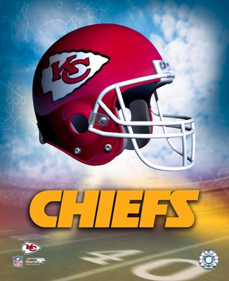 Chiefs A1 Kansas City Team Helmet Photo LIMITED STOCK