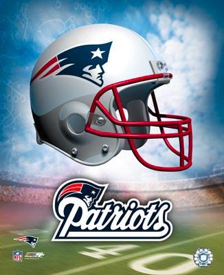 A1 Patriots Team Helmet 8x10 Photo
