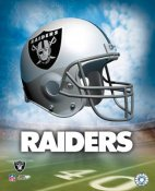 Oakland A1 Raiders Team Helmet Photo