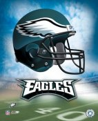 Philadelphia A1 Eagles Team Helmet LIMITED STOCK 8X10 Photo