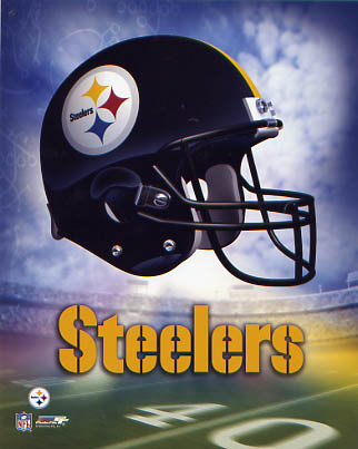 Pittsburgh A1 Steelers Team Helmet Photo