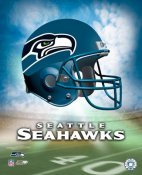 Seahawks Team Helmet Seatle 8x10 Photo LIMITED STOCK