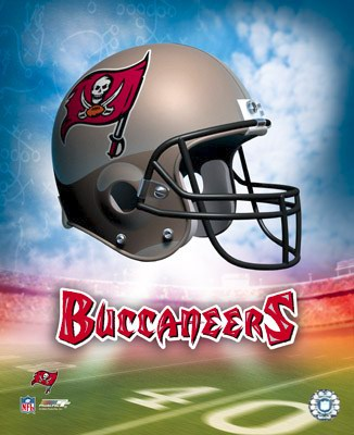 Buccaneers A Tampa Bay Team Helmet 8x10 Photo