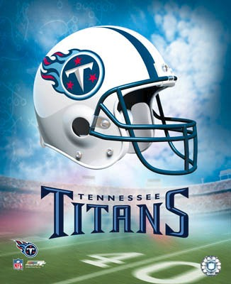 Titans A Team Helmet 8x10 Photo