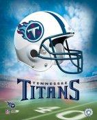 Titans A Team Helmet 8x10 Photo
