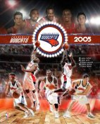 Charlotte 2005 Bobcats Team Composite 8X10 Photo LIMITED STOCK