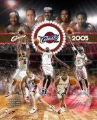 Cavaliers 2005 Team Composite 8X10 Photo