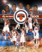 Knicks 2005 Team Composite 8X10 Photo LIMITED STOCK