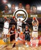 Philadelphia 2005 76ers Team 8X10 Photo LIMITED STOCK