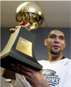 Tim Duncan 2003 MVP Trophy 8X10 Photo LIMITED STOCK
