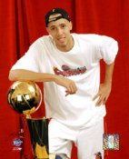 Tayshaun Prince With Trophy 8X10 Photo LIMITED STOCK