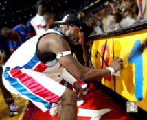 Ben Wallace - Painting Final X 8X10 Photo  LIMITED STOCK