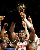 Ben Wallace with Trophy 8X10 Photo LIMITED STOCK