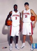 Ben Wallace & Darko Milicic 8X10 Photo  LIMITED STOCK