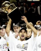 Tony Parker With Champions Trophy 8X10 Photo LIMITED STOCK