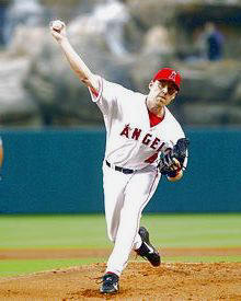 John Lackey Anaheim Angels 8X10