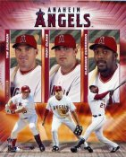Angels 2004 Big Three 8X10 Photo