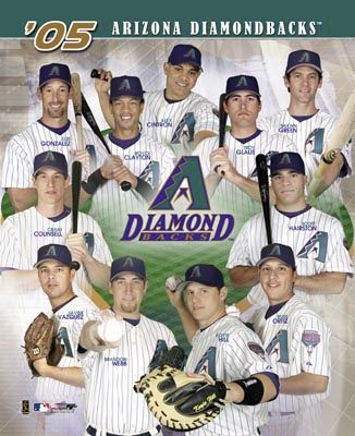 Diamondbacks 2005 Team Composite 8X10 Photo