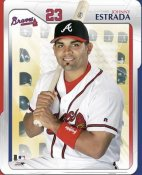 Johnny Estrada Studio Atlanta Braves LIMITED STOCK 8X10 Photo