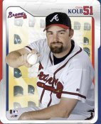 Dan Kolb Studio Atlanta Braves 8X10