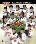 Orioles 2005 Team Composite 8X10 Photo