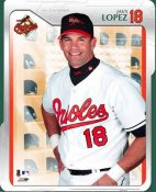 Javy Lopez LIMITED STOCK Studio Baltimore Orioles 8X10 Photo
