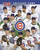 Cubs 2005 Team Composite 8X10 Photo