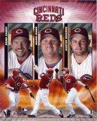 2004 Cincinatti Reds Big Three 8X10