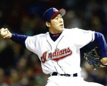 Kazuhito Tadano Cleveland Indians 8X10