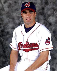 Danys Baez Cleveland Indians 8X10
