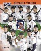 Detriot Tigers 2005 Team Composite 8X10