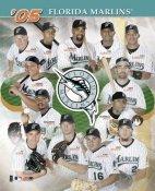 Florida Marlins 2005 Team Composite 8X10