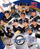 Kansas City Royals 2004 Team Composite 8X10
