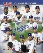 Los Angeles Dodgers 2005 Team Composite 8X10