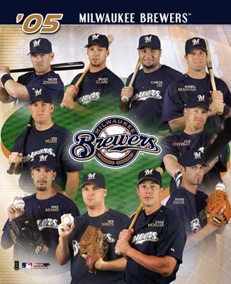 Brewers 2005 Team Composite 8x10 Photo