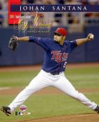 Johan Santana AL Cy Young Winner LIMITED STOCK Minnesota Twins 8X10 Photo