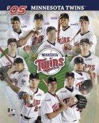 Minnesota Twins 2005 Team Composite 8X10