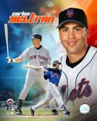 Carlos Beltran LIMITED STOCK Composite Mets 8X10 Photo