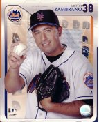 Victor Zambrano LIMITED STOCK New York Mets 8X10 Photo