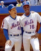Tom Seaver & Dwight Gooden Mets 8X10 Photo